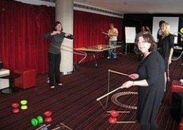 Team Bonding Circus Skills Workshop 18