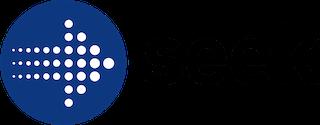 Seek com au logo