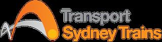 nsw transport trains logo detail