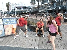 Amazing Race Team Building Darling Harbour  18