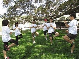 Sydney Amazing Race Botanic Gardens 009