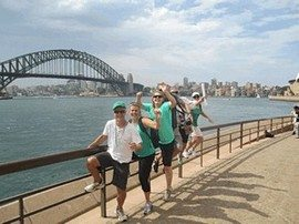 Sydney Amazing Race Botanic Gardens 012