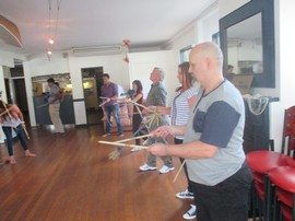 Team Bonding Circus Skills Workshop 12