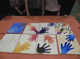 Team Building Painting Activity and  Art Workshop 19