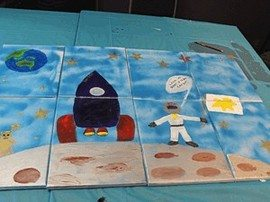 Team Building Painting Activity and  Art Workshop 24