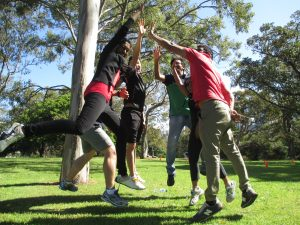 best of outdoors team building event