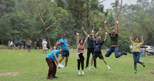 best of outdoors team building sydney