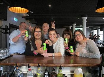 End of team building event celebrations Team Bonding Sydney