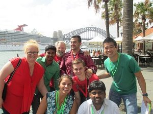 Sydney Amazing Race outdoor daytime events with Team Bonding